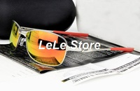 2014 New Hot Metal Leg Polarized Lens Sunglasses Men's Outdoor Sports SunGlasses Cycling Goggles Eyewear With Box Free Shipping
