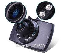 Novatek 96650 G30 Car DVR 2.7 LCD 170 degree wide angle 6 LED Light Good Night Vision with WDR Motion Detection 1080P H.264 MOV