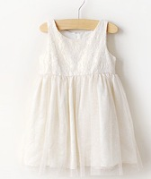 Summer New Elegant Girls Dresses Girls Sequin Sleeveless Sparkle Yarn Party Princess Dresses,5pcs/lot,2-7Y.