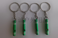 Outdoor aluminum alloy whistle life-saving survival whistle protection