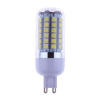 2014 New 8W AC85-265V G9 Corn LED Light  69 Lamp Beads 5050SMD 1100 Lumen Warm White / Cool White Energy-saving