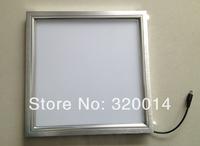 Fedex Free shipping 48W, smd2835 panel light,600*600mm Led Ceiling Light Warm White AC85-265V Led Square Panel Light