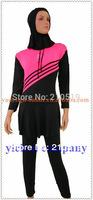 Hot GIRL children 2014 spandex polyester Muslim swimsuits Islamic swimwear/Muslim swimwear