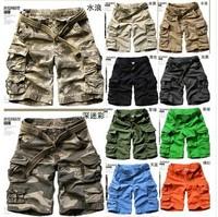 shorts bermudas men shorts Long camo cargo Sports Brand Tactical short for men military bermudas masculina mens surf boardshort