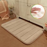 Super soft memory foam Mats 40*60cm size Carpet Waste-absorbing carpet doormat slip-resistant pad bath mat anti-slip