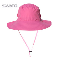 Santo outdoor breathable quick-drying hat sun-shading uvioresistant sun round edge bucket hat m-13 Women