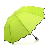 Free shipping 2014 new water umbrella folding princess umbrella female sun umbrella sun protection umbrella sun umbrella anti-uv