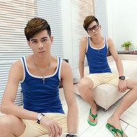 New Undershirt Male Slim Sports Basic Vests