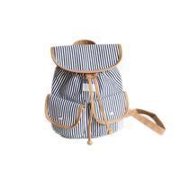 Girl fashion nanfang fresh stripe mini backpack
