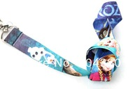 wholesale 30 pcs lots Frozen Neck Lanyard Mobile Phone straps for MP3/4 cell phone free shipping