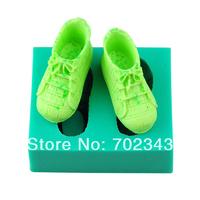 Silicone Shoes Shape Soap Molds Cake Mould Fondant Decorations