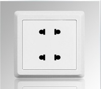 Free shipping,   switch/switch socket/switch/socket/panel/four hole socke