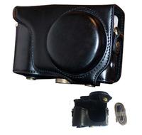 Black PU case camera case bag for Samsung Galaxy GC200 Camera bag EK-GC200 free shipping