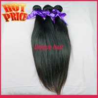 3pcs lot Malaysian Virgin Hair Silk Straight Queen Hair Products 100% Human Hair Extensions Free Shipping