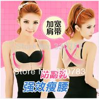 new 2014 women body waist training corset slimming thin breathable training cincher corselet girly bodysuit corrective underwear