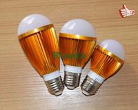 led bulbs tubes 7w 5w 3w 100% nice light SMD5730 130LM/W High quality Energy saving led e27