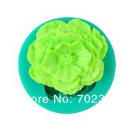 Silicone Soap Molds Cake Mould Fondant Decorations Flower Shape