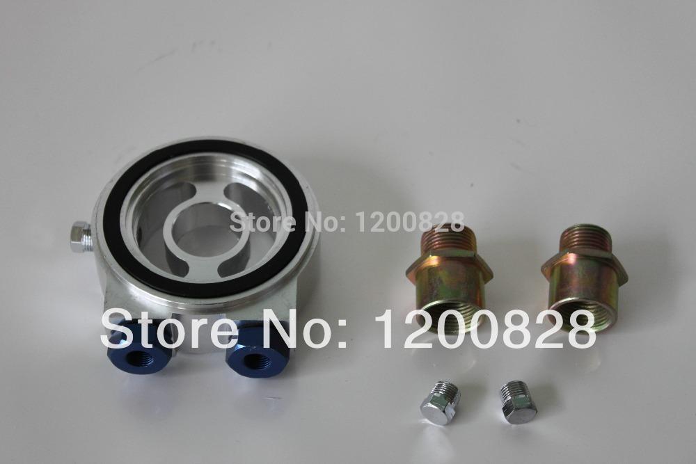 HPPOA01 Oil Universal Adapter Sandwich Filtro Placa para Medidor Car Temp Defi Petróleo e adaptador do sensor de pressão de óleo(China (Mainland))