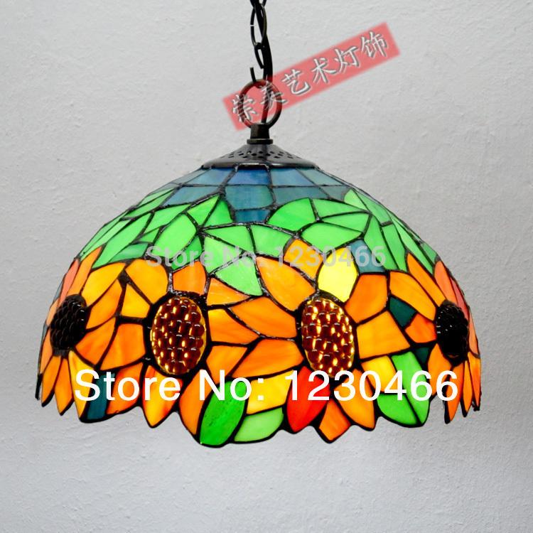 Tiffany lampadario in vetro colorato, chandeliev srystal bar posto del tubo, giardino, bar ristorante illuminazione(aggiungere 1 pc ha condotto ligjht)