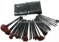 Cosmetic brush set of quality 32 professional makeup brush makeup tools cosmetic concealer foundation cosmetic bag eye shadow
