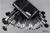 Real techniques styling new 2014 makeup brush cosmetics makeup brush set beauty 32 professional brush set 32 cosmetic brush bag