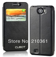 Original S View Window Flip Leather Cover Case For Cubot GT99 Smart Android Cell Phone Case With Retail Package