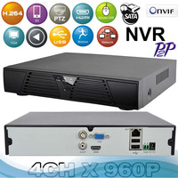 NVR 4 Channel 960H Network Video Recorder IP NVR 4CH Support ONVIF 2.0 system HDMI Output H.264 CCTV NVR for IP Camera