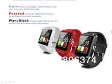 Electronic 2014 New Fashion  Bluetooth Smart Watch U Watch Women Men Sports Watches For iPhone Samsung Remote Taking Photo