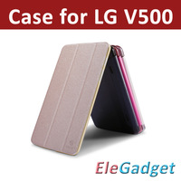 Original NILLKIN Sparkle Leather case For LG G PAD Tablet 8.3   Leather cover  for LG  V500 ,wake up /sleep