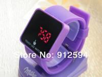 30pcs/lot, New LED Mirror Watch