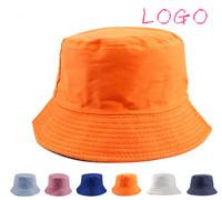 customize advertising cap  travel cap double faced bucket hat cap round cap