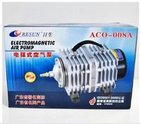 Resun Brand  Electromagnetic Aquarium Air Pump ACO-008 POWER 120W Air Flow 110L/MIN  PRESSURE  0.032Mpa