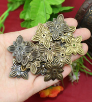 Lots 50pcs Round Metal Decorative Pieces 20MM+Nails Furniture Upholstery Nails Tacks decorative furniture tacks