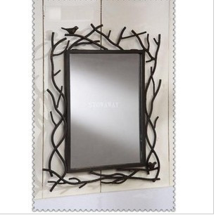 Perfect bathroom frame iron mirrors clothing mirror wall dressing mirror vanity mirror(China (Mainland))