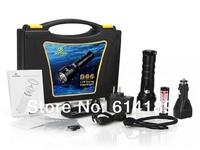 XTAR D06  CREE XM-L U2 820lm LED Diving Flashlight Suit