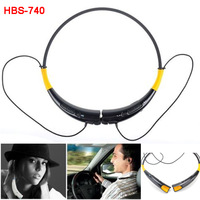 Wireless Bluetooth Headphone Handsfree Universal Stereo Hi-Fi Headset HBS-740 Neckband Style for iPhone Samsung LG HTC Earphone