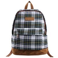 VEEVAN 2014 New Fashion Plaid Women Backpack Mochilas Femininas Vintage School Bags For Teenager Girl Casual travel bag