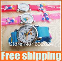 20% off Drop ship Cartoon donald duck Watch Quartz wristwatch gift  for kids children Child  Free Shipping