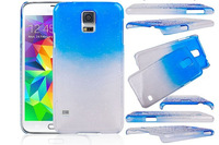 Water Drop Case for Samsung GALAXY S5 i9600,Clear Crystal Transparent Hard Plastic Back Cover for Samsung S5 1pcs Free Shipping