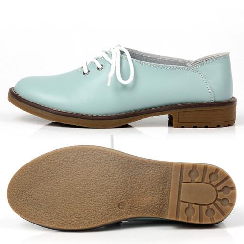 sapatos oxford para mulheres flats 2014 mulheres couro genuíno sapatos mul