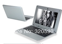 DHL FREE CHEAP  HOT 50PCS 10 inch laptop with Android 4.2 VIA8850 VIA 8880 netbook laptop 512M 4GB with keyboard