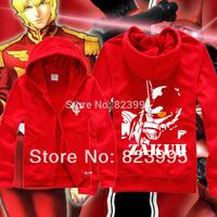 HOt Free Shipping New  top brand designer fashion ziper hoodies Gundam hoodies Sweatshirt
