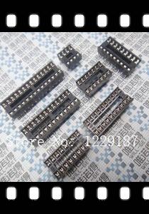 New original 40PCS 16 pin DIP IC Sockets Adaptor Solder Type Socket(China (Mainland))