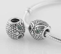 European Charms Silver 925 Chunky Beads European Beads DIY Jewelry Large Hole Beads