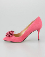 new  arrive 2014 fashion  high heels 8cm  shoes for women flower  wedding shoes for lady red party  shoes  size 35-42