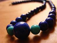 Natural crystal twenty percent off sales Natural 4a lapis lazuli necklace