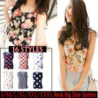 New 2014 Spring Women Blouses Shirt 16 Styles S-XXXL Plus Size Bird Flower Print Summer Shirt Blusas Femininas Women Clothing