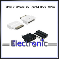 Dock  30pin male to female extension connector for  iPad 2 iPhone 4s Touch4 Cable