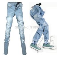New big Size Denim pants Men's jeans/Fashion Men Long Trousers/ L~XXXL 4XL 5XL Large Size pencil Pants good quality/MOB