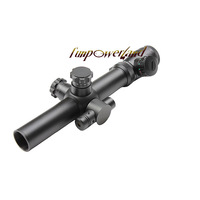 Funpowerland M2  3.5-10x25 Red&Green Mil-Dot Riflescope/Hunting Sight Scope With Red Laser